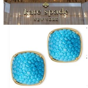 ♠️turquoise stud earrings by kate spade New York♠️
